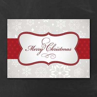 Presenting - Christmas Card