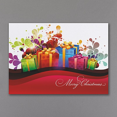 Crazy Christmas Colors - Holiday Card