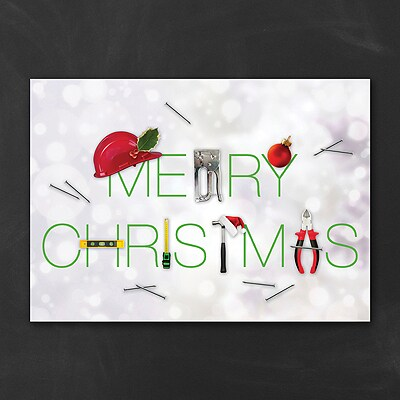 Tool Tidings - Christmas Card