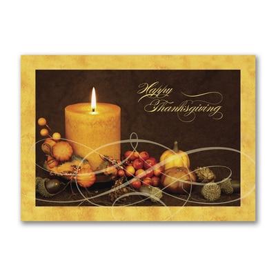 Wishes of Plenty Postcard