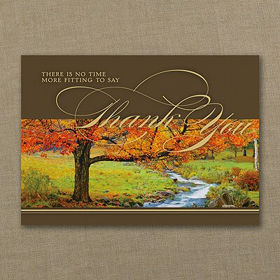Thanksgiving Sentiments Card