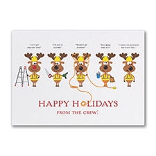 Holiday Crew - Holiday Card