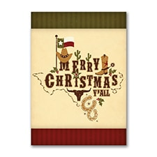 Texas Pride - Christmas Card