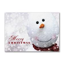 Christmas Snowman - Christmas Card