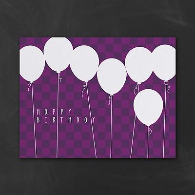 Balloon Bonanza - Purple