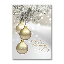 Shining Holiday - Holiday Card