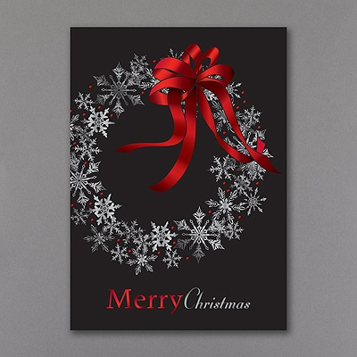 Snowflake Celebration - Christmas Card