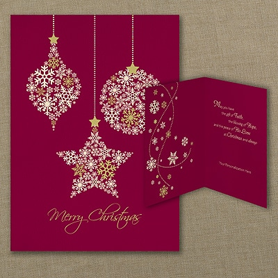 Snowflake Success - Christmas Card