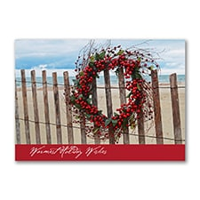 Warm Holiday Wishes - Holiday Card