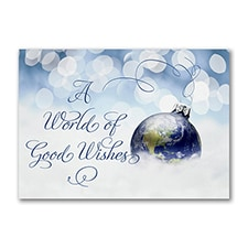 Gleaming Good Wishes - Postcard