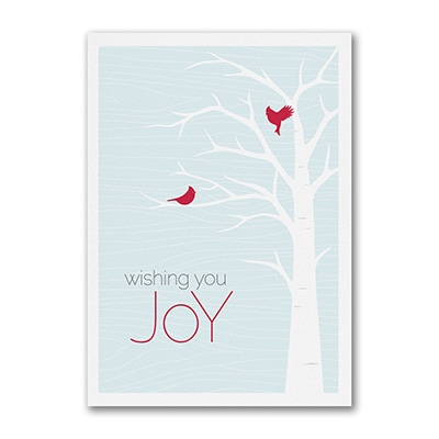 Wishing You Joy - Holiday Card