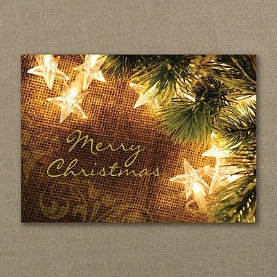 Country Chic Decorations - Christmas Card
