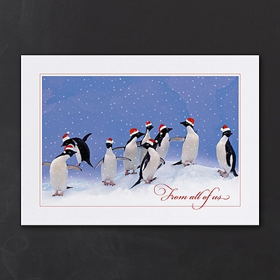 Holiday Penguin Party