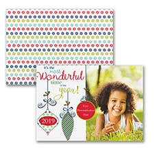 The Most Wonderful Time - Photo Holiday Card