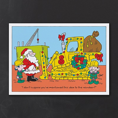 Construction Delivery - Holiday Card