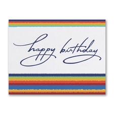 Rainbow Birthday - Birthday Card