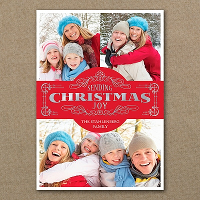 Christmas Joy - Photo Holiday Card