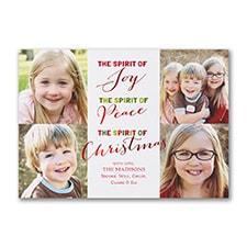 Christmas Spirit - Holiday Card