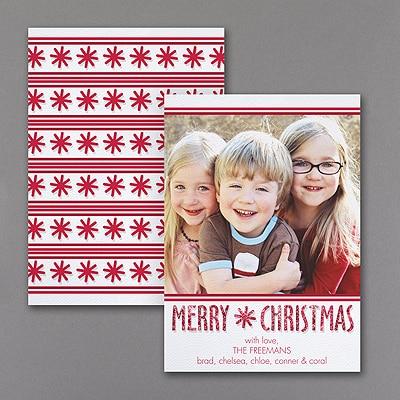 Merry Christmas - Photo Holiday Card