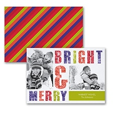 Bright & Merry - Photo Holiday Card