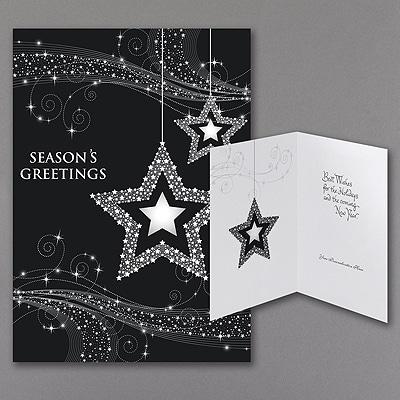 Charming Stars - Holiday Card