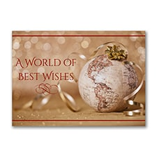 Wishes Around the World - Holiday Card
