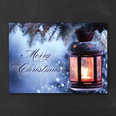 Christmas Lantern - Christmas Card