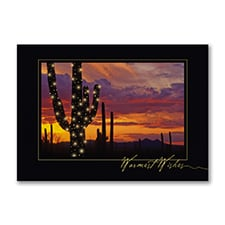 Holiday Cactus - Holiday Card