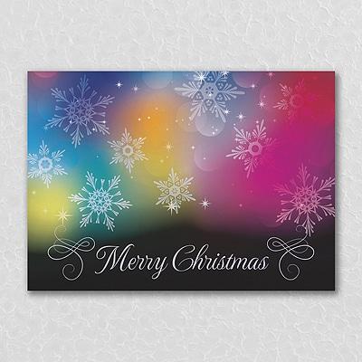 Colorful Christmas - Christmas Card