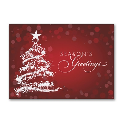 Dazzling Tree - Holiday Card