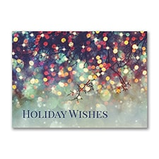 Prismatic Wish - Holiday Card