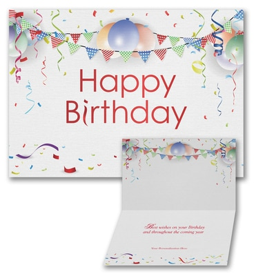 Born to Party - Birthday Card