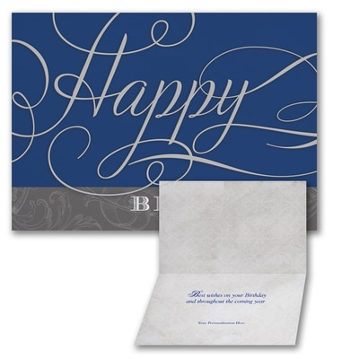 Formal Wishes - Birthday Card