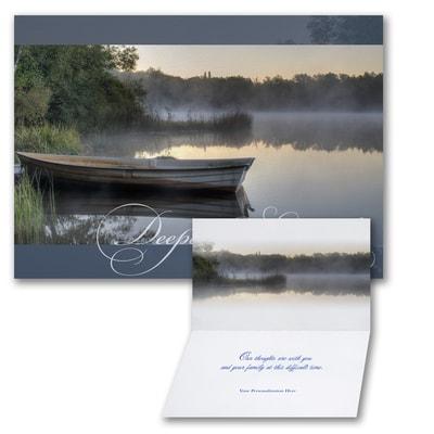 Peaceful Grace - Sympathy Card