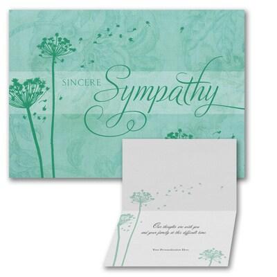Dandelion - Sympathy Card
