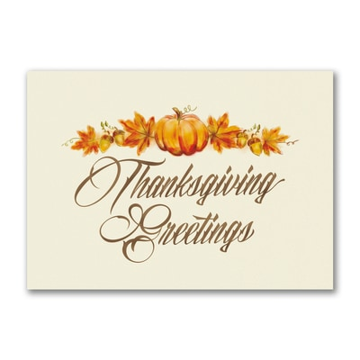 Classic Thanksgiving - Thanksgiving Card