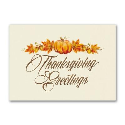 Classic Thanksgiving - Thanksgiving Card