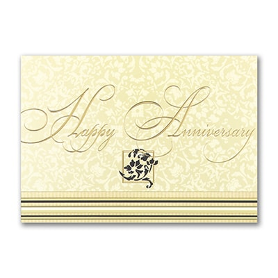 Anniversary Stripes Card