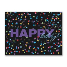 Confetti Wishes - Birthday Card