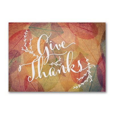 Colorful Array of Thanks