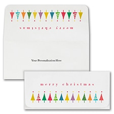 Holiday Trees Currency Envelope