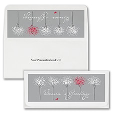 Fun Treeline Currency Envelopes