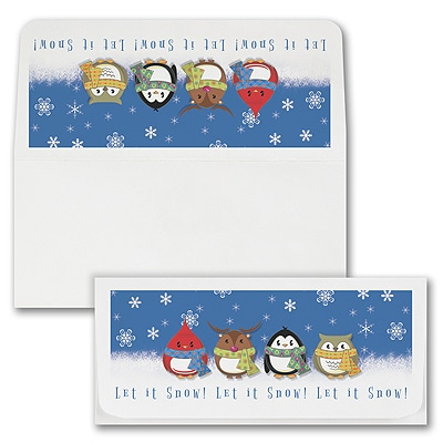 Let it Snow Currency Envelope