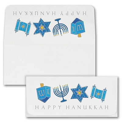 Hanukkah Currency Envelope