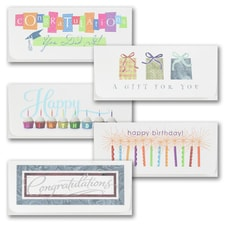 All-Occasions Currency Envelope Assortment Pack