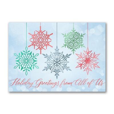 Dangling Snowflakes