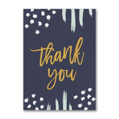 Brushstrokes & Dots Thank You
