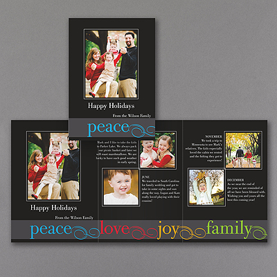 Bright Wishes Storyline - Photo Holiday Card