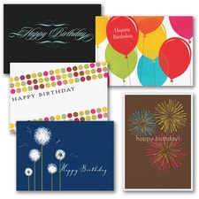Birthday Assortment - 50 Cards