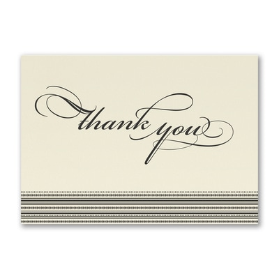 Stately Thank You